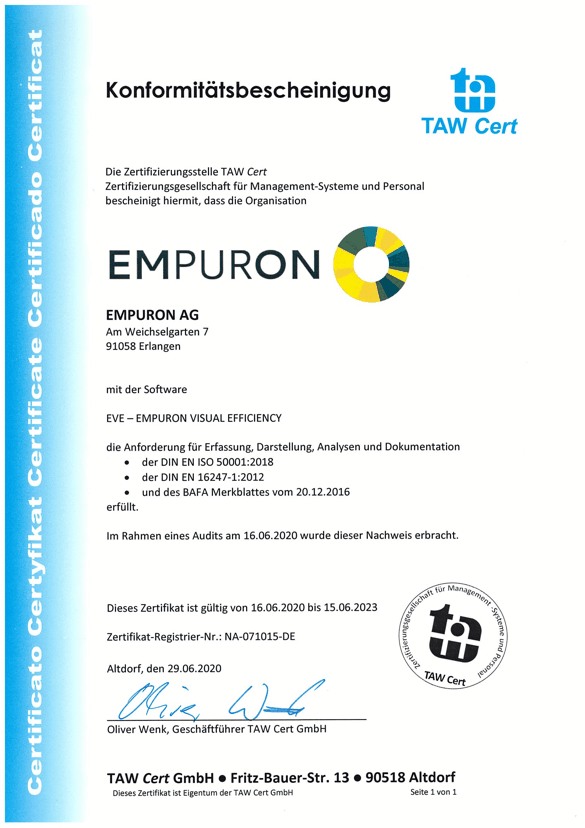 DIN EN ISO 50001: 2018